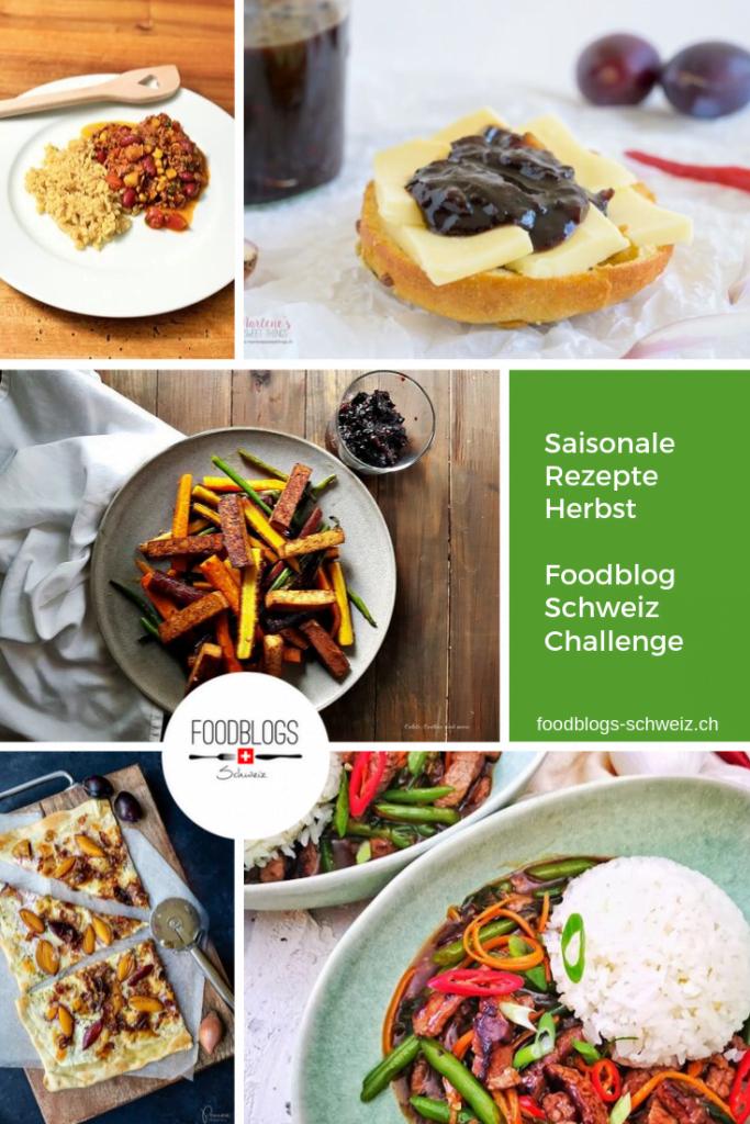 Saisonale Herbstrezepte mit Schalotten, Bohnen, Karotten, Holunder und Zwetschgen. Entdecke spannende Rezept-Kreationen aus unserer September-Food-Challenge.